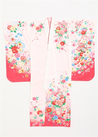 Shichgosan Celebration Kimono for 7 year olds