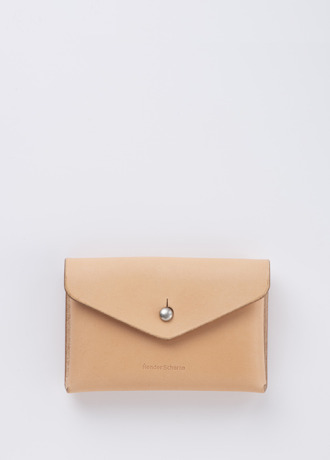 Hender Scheme one piece card case natural