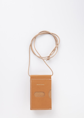 Hender Schme hang wallet natural