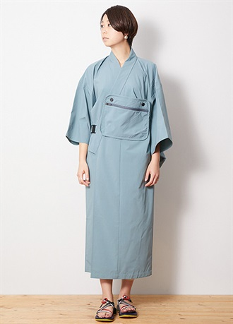 DWR Light Weight OUTDOOR KIMONO Light Blue