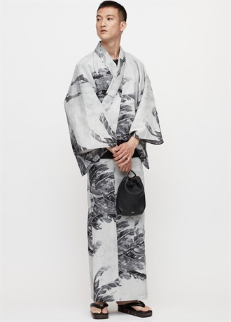 Yukata with tairoling