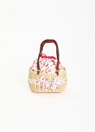 Girl's Basket Bag