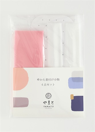 Yukata innerwear 4 piece set  for summer