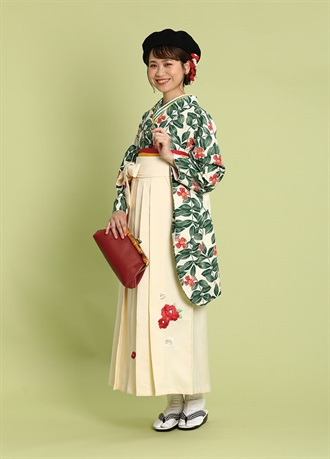 Hakama rental crassical setB
